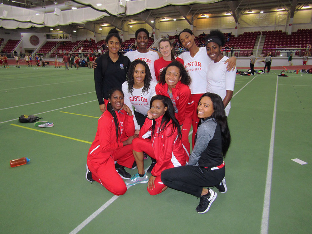 Boston University Women's Track and Field at BU Multi-Team Meet