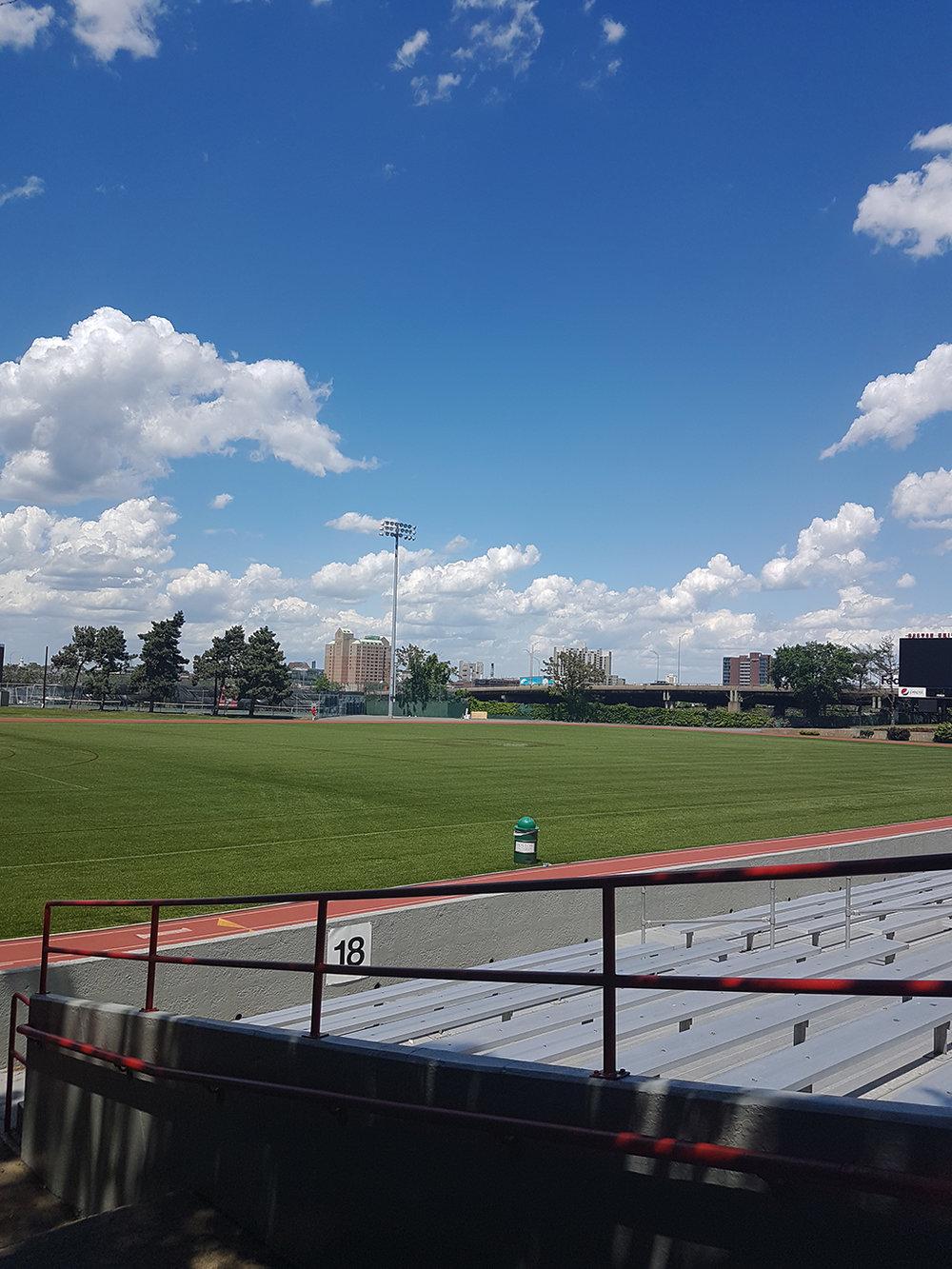 BU's Nickerson Field May 2017