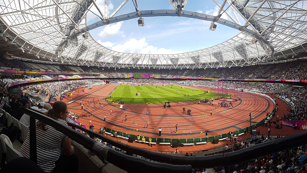 IAAF London World Championships Crowd Panorama