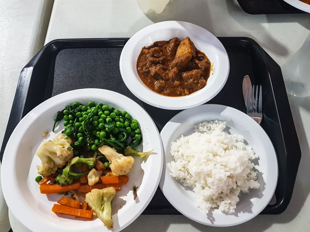 Commonwealth 2018 dining hall food