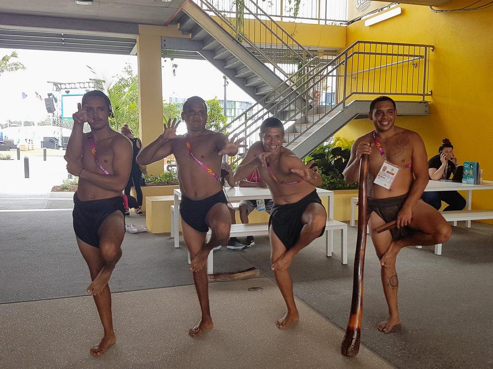 Aboriginal welcoming group