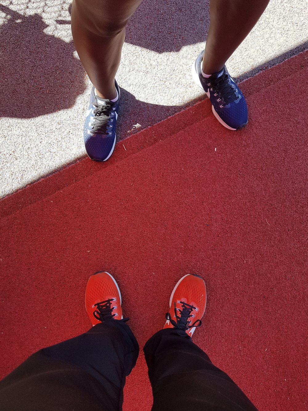 track legs