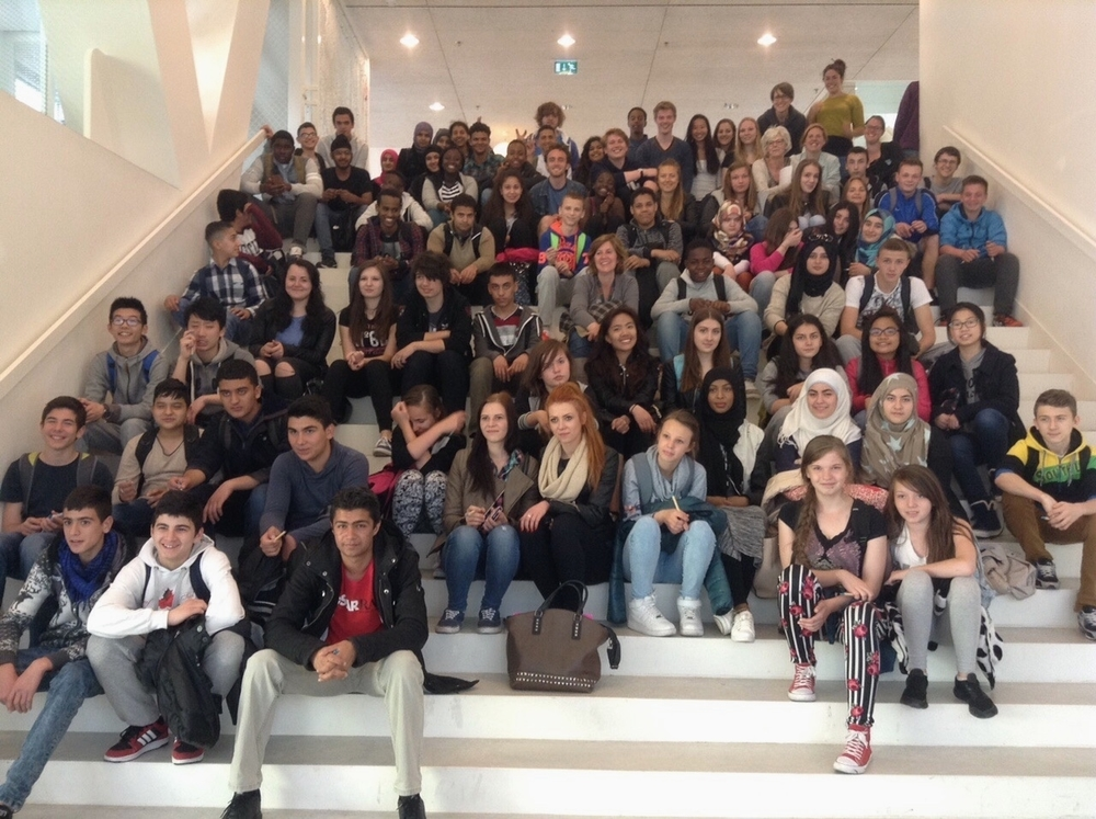 Students from Johan de Witt visit LUC.