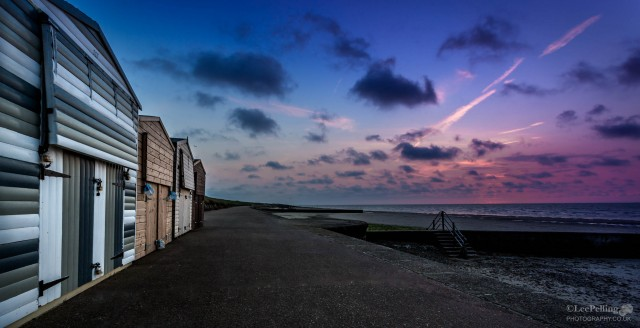 Beach Huts at Minnis Bay