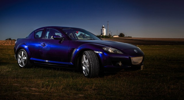 Mazda RX 8 at Joss Bay Broadstairs