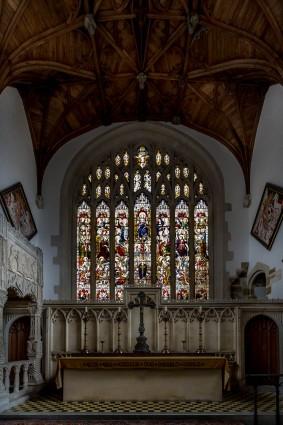 Inside Fitzalan Chapel