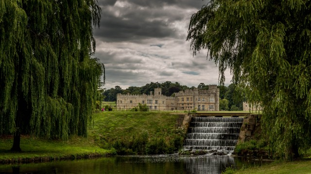 Leeds Castle Waterfall