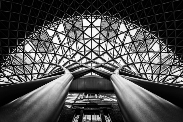 Kings Cross Roof Detail