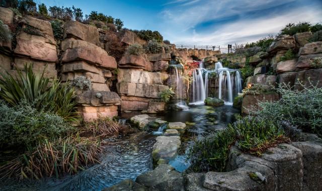 Madeira Walk Waterfall Ramsgate