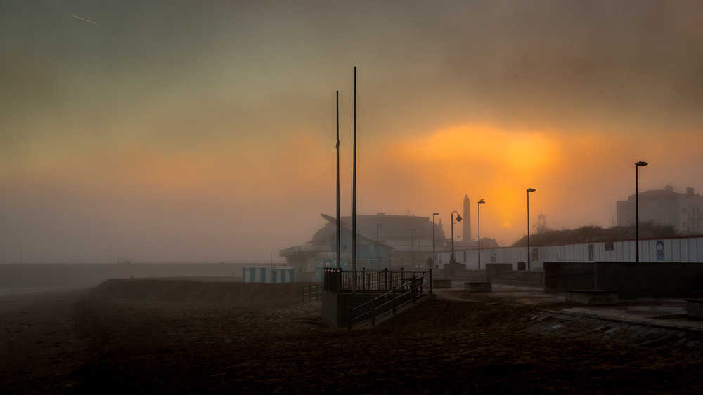 Ramsgate Beach in the Fog