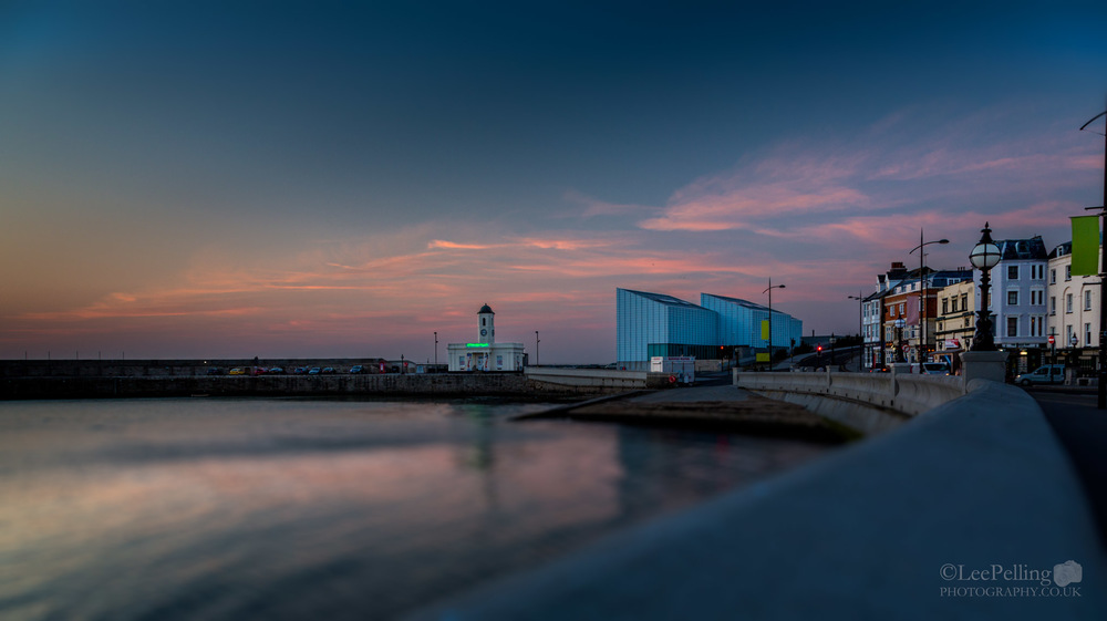 Margate Turner Center Sunset