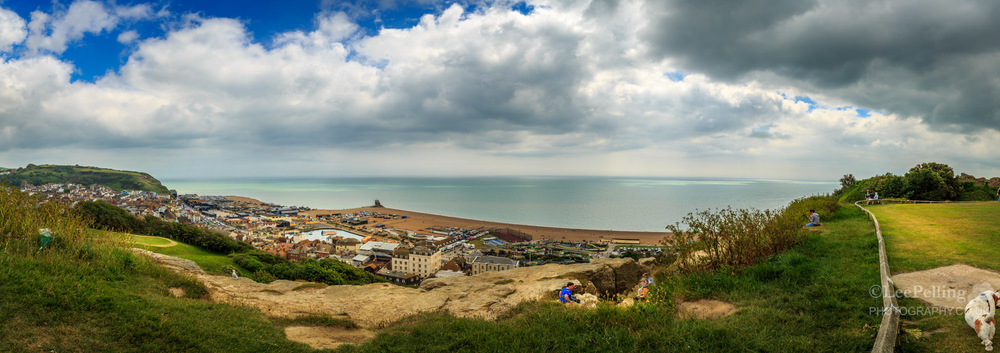 Hastings Clifftop Pano