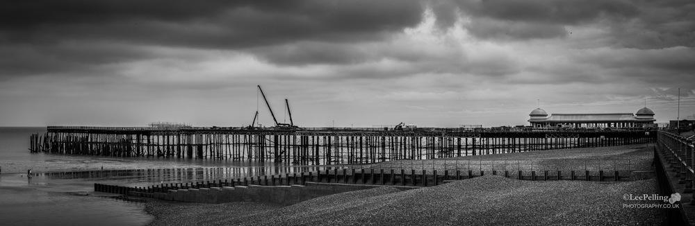 Hastings Pier Rebuild Pano