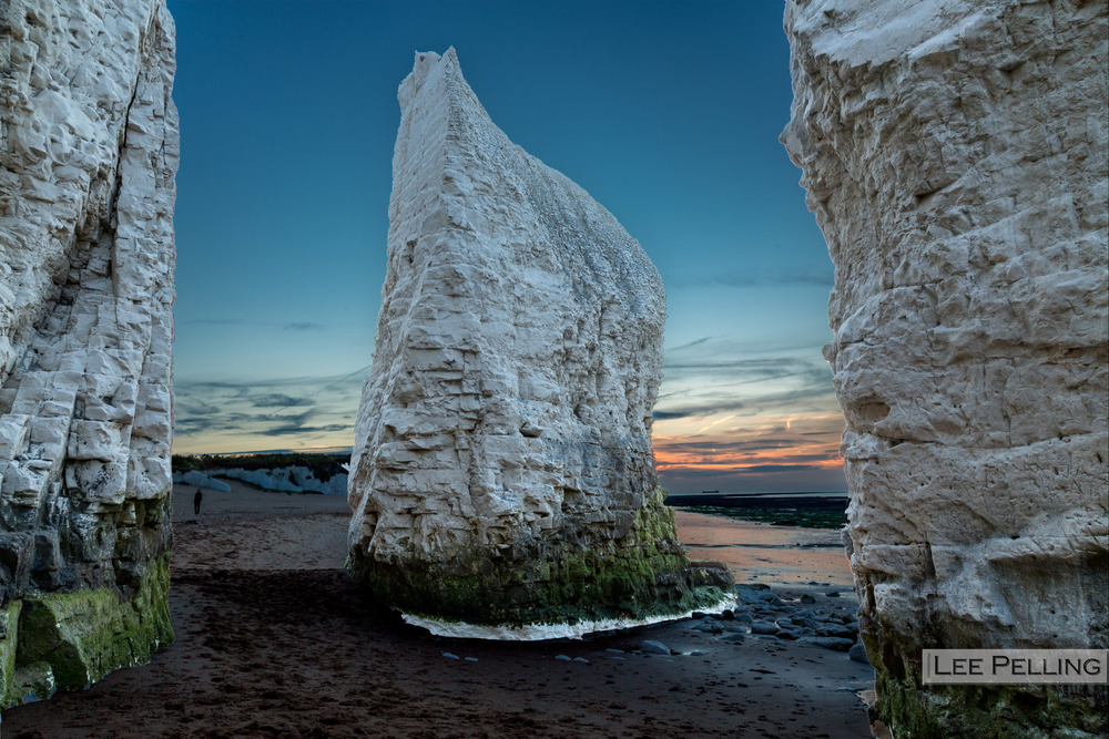 Chalk Stacks at Botany Bay Broadstairs