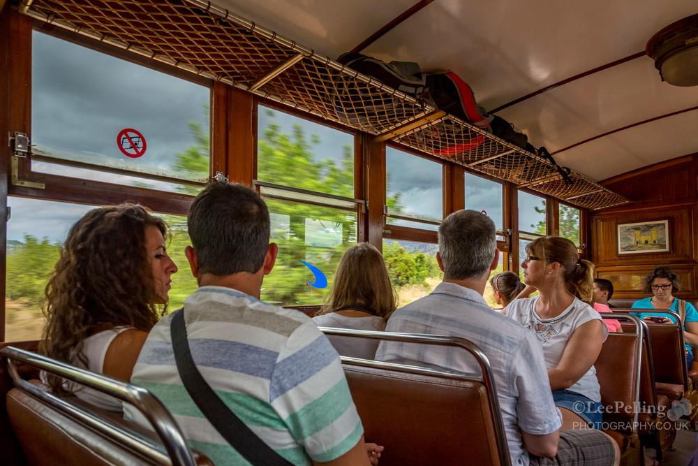 Onboard Soller Train