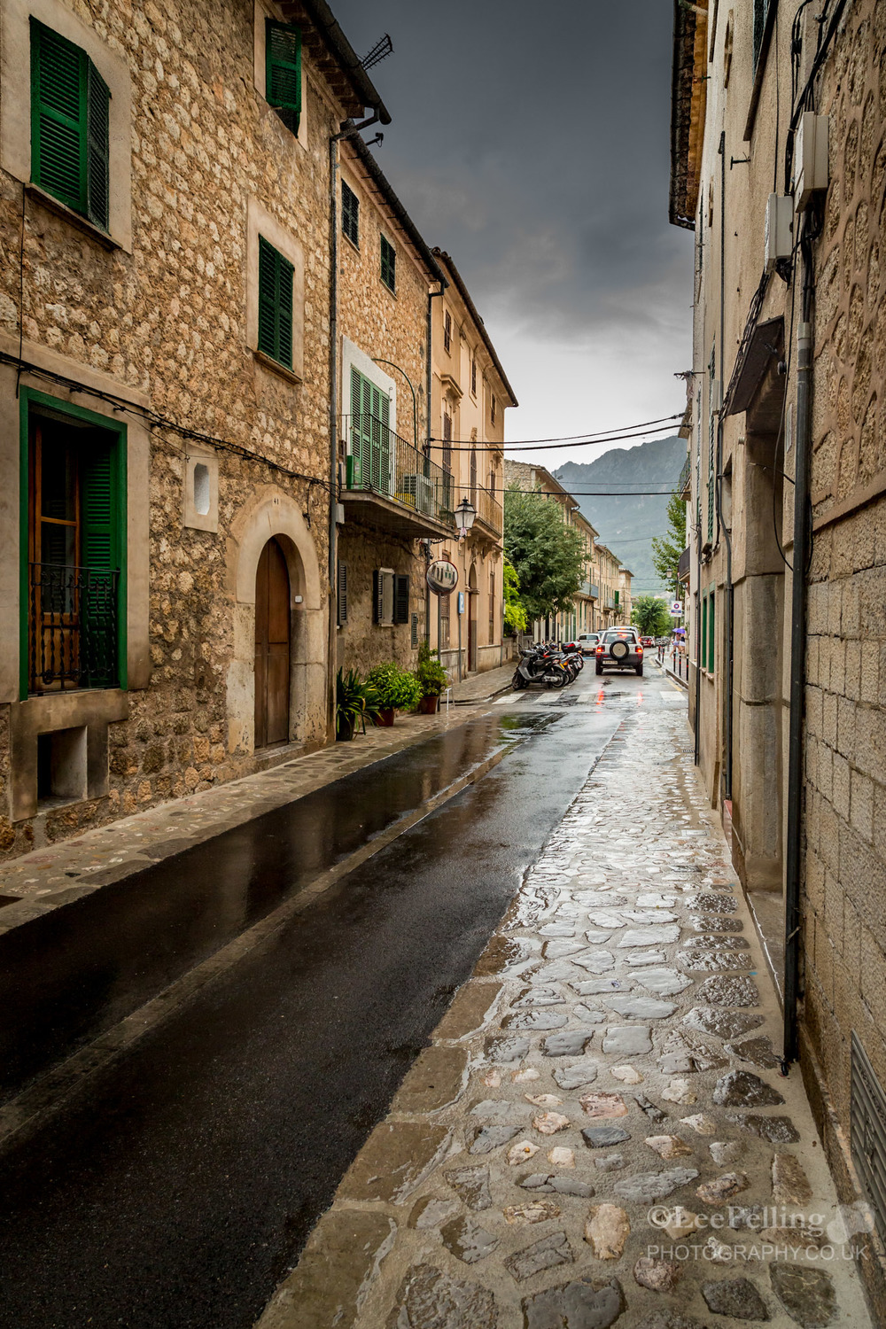 Rainny Day in Soller