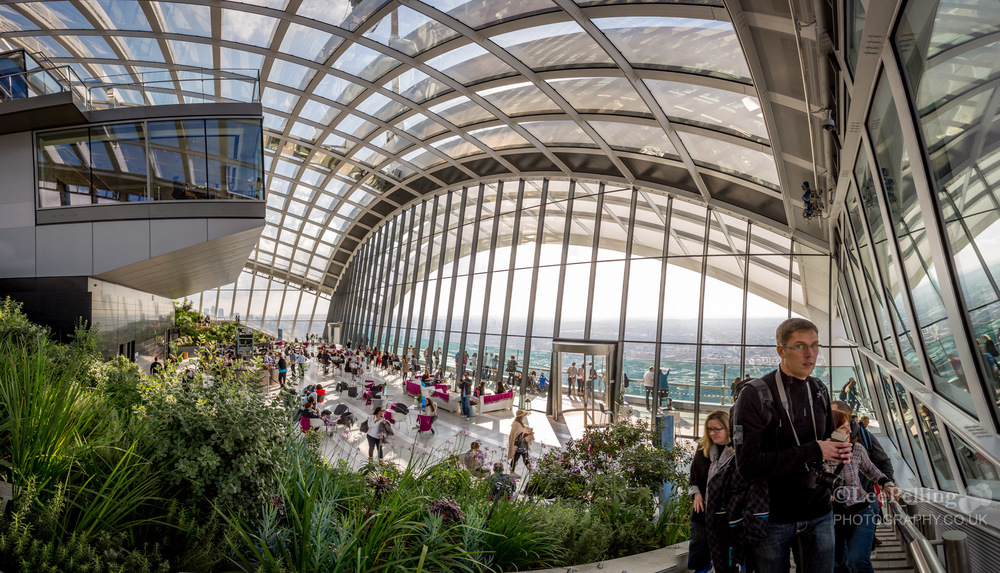 London Skygarden at the Walkie Talkie, 20 Fenchurch Street