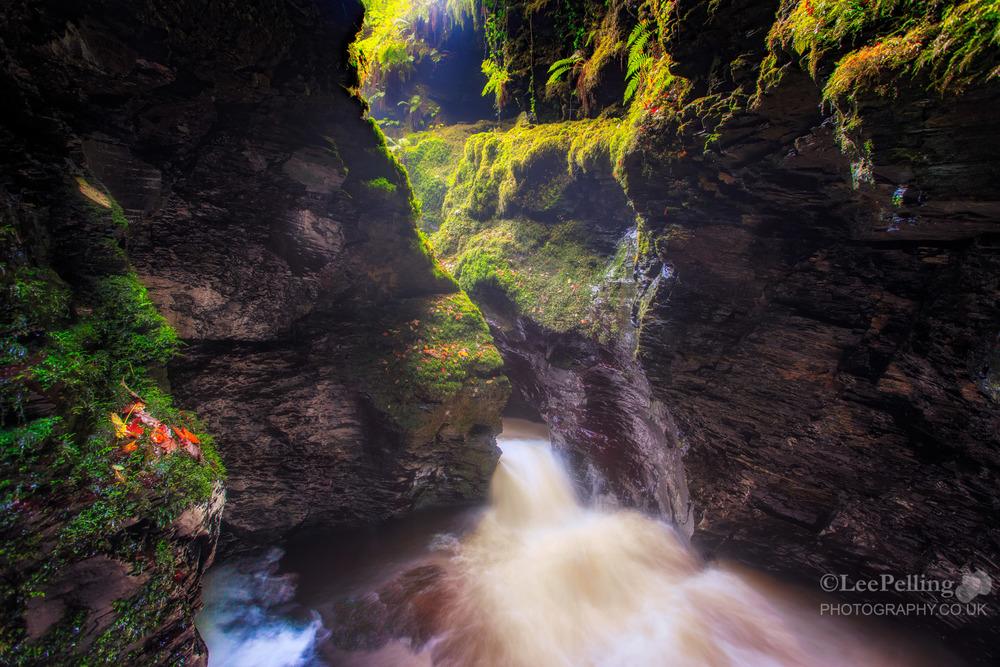 Devils Cauldron Lydford Gorge