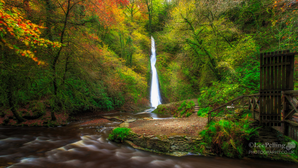 White Lady Waterfall, Lydford Gorge