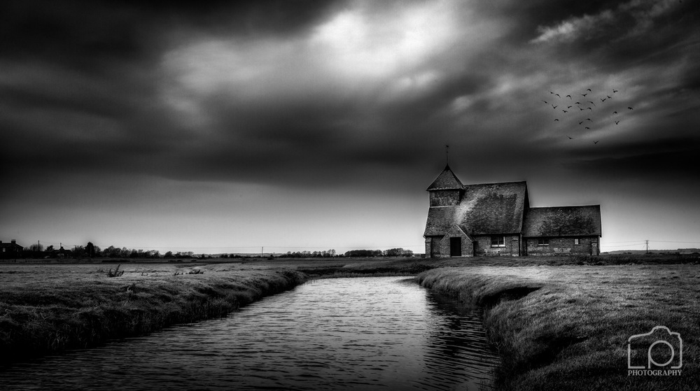 St Thomas Becket Church, Fairfield, Romley Marsh