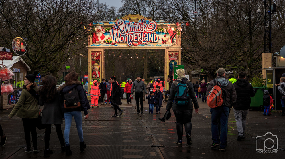 Winter Wonderland, Hyde Park London