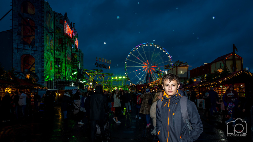 Ben at Winter Wonderland