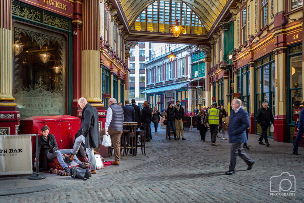 Shoe Shine , Leadenhall Market