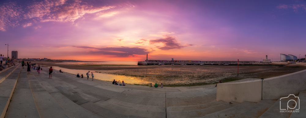 Margate Sunset Panorama