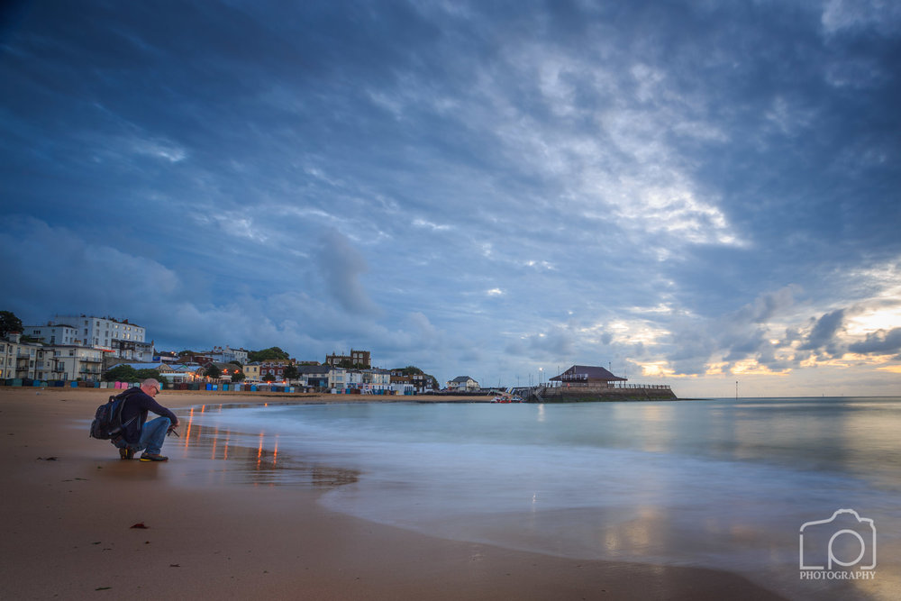 William Walker Collins at Viking Bay Broadstairs Sunrise