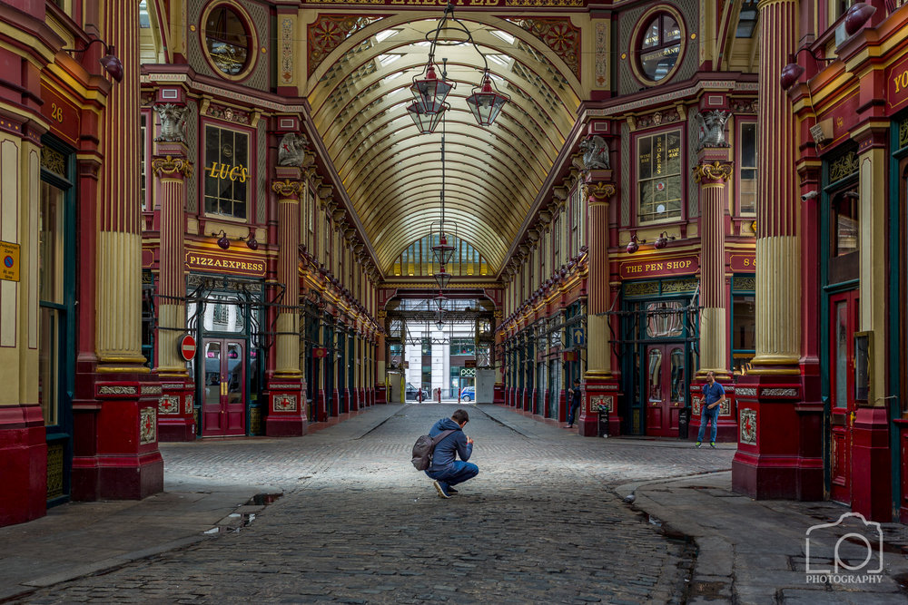 Lee Beech , Leadenhall Market  - 9395
