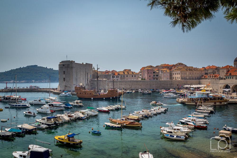 Dubrovnik Harbour - 9541