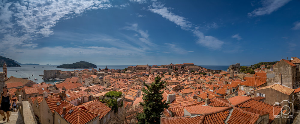 Dubrovnik Old Town Pano - 9752
