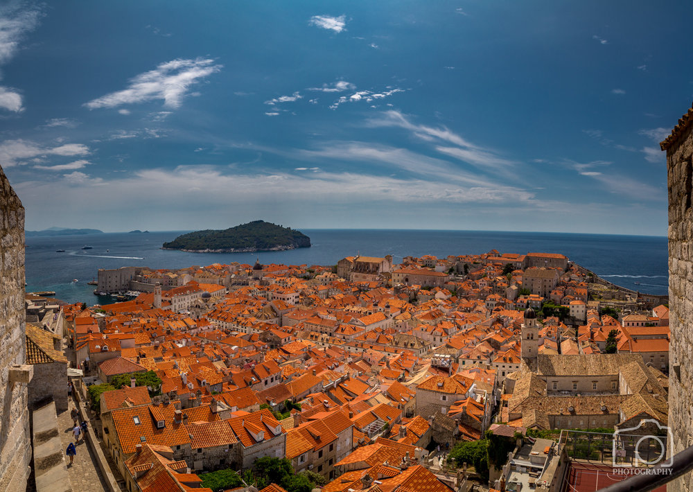 Dubrovnik Old Town Pano - 9764