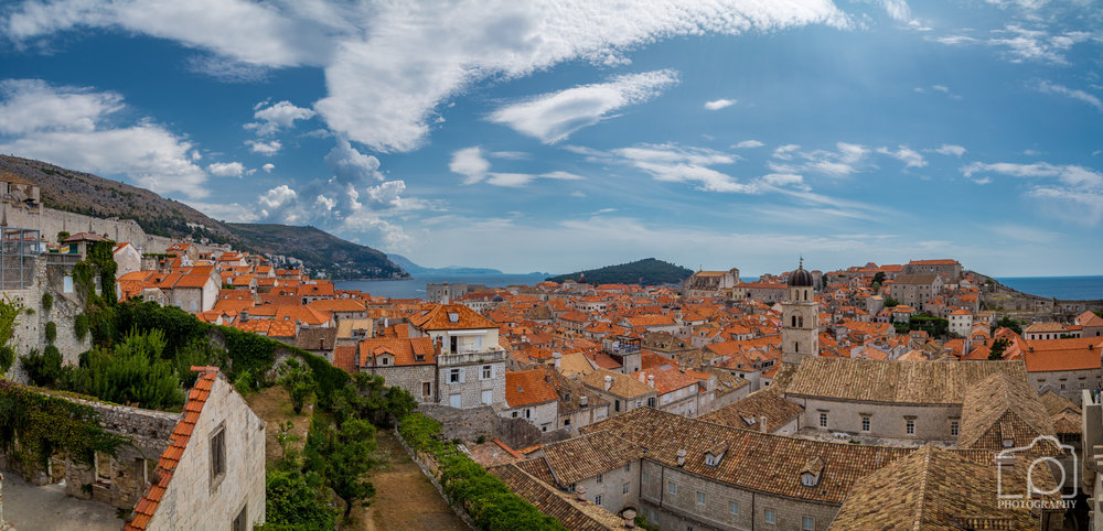 Dubrovnik Old Town Pano - 9780