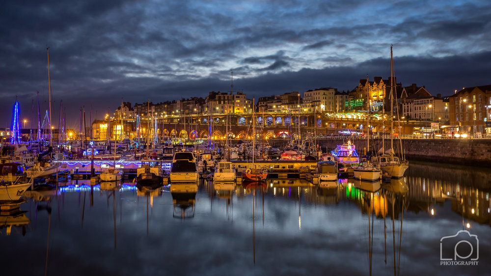 Ramsgate Royal Harbour Christmas Lights - 0791