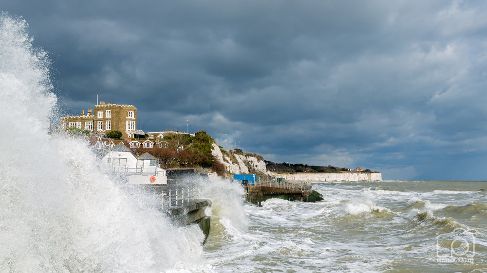 Rough Sea at Broadstairs