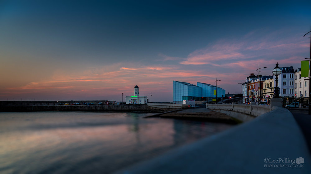 Margate Turner Gallery Sunset