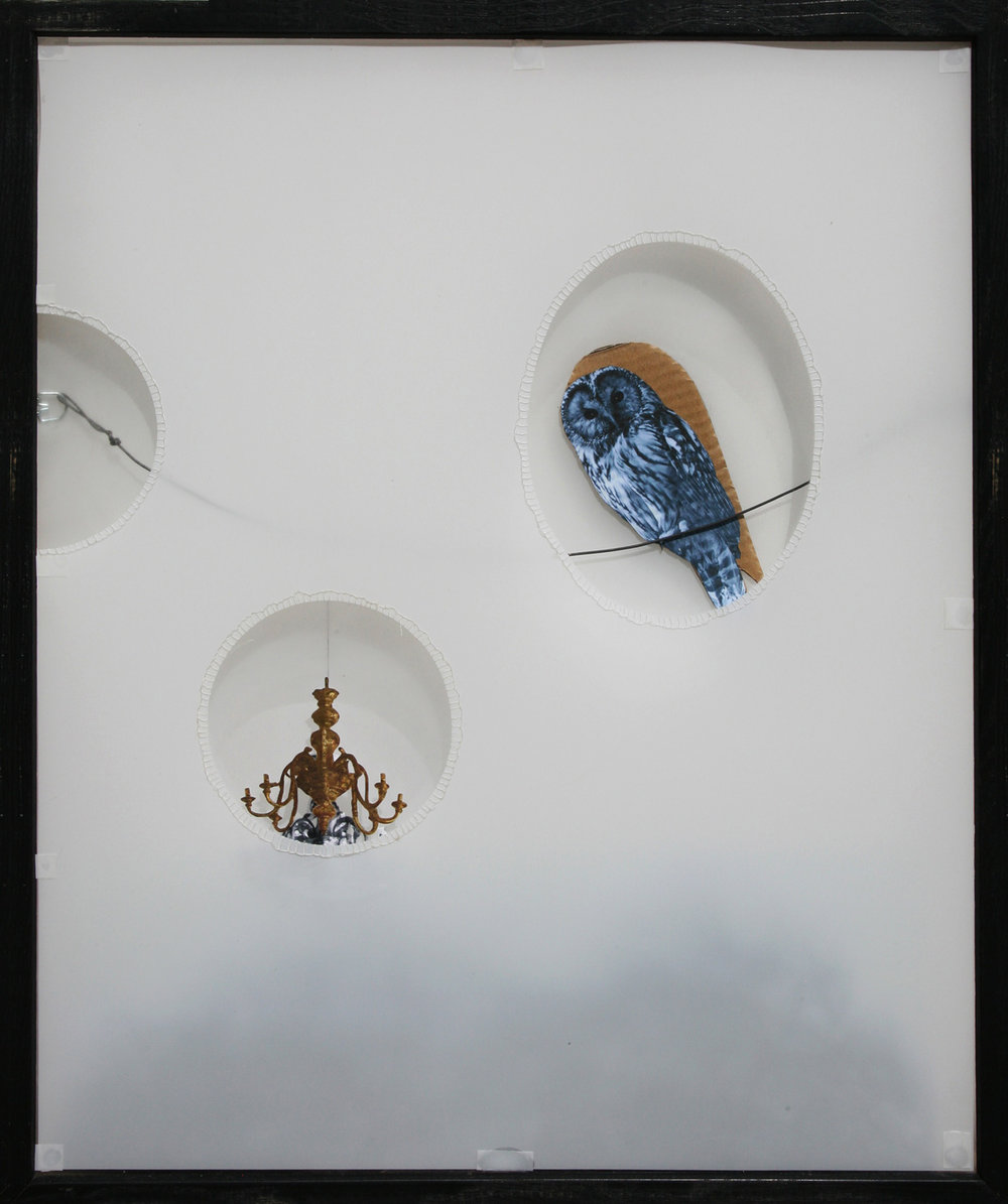 Owl and Chandelier