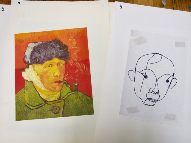 Van Gogh and Alexander Calder