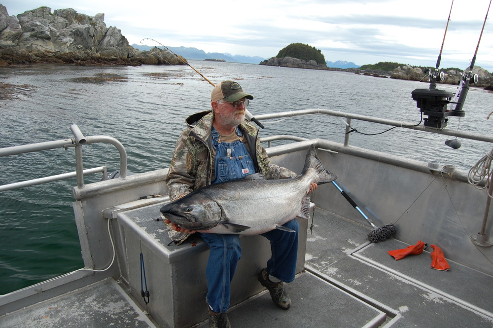 Southeast Alaska King Salmon Fishing