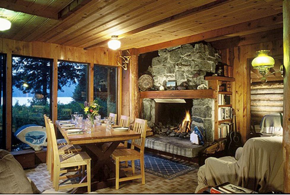 The Lisianski Inlet Lodge Dining Room