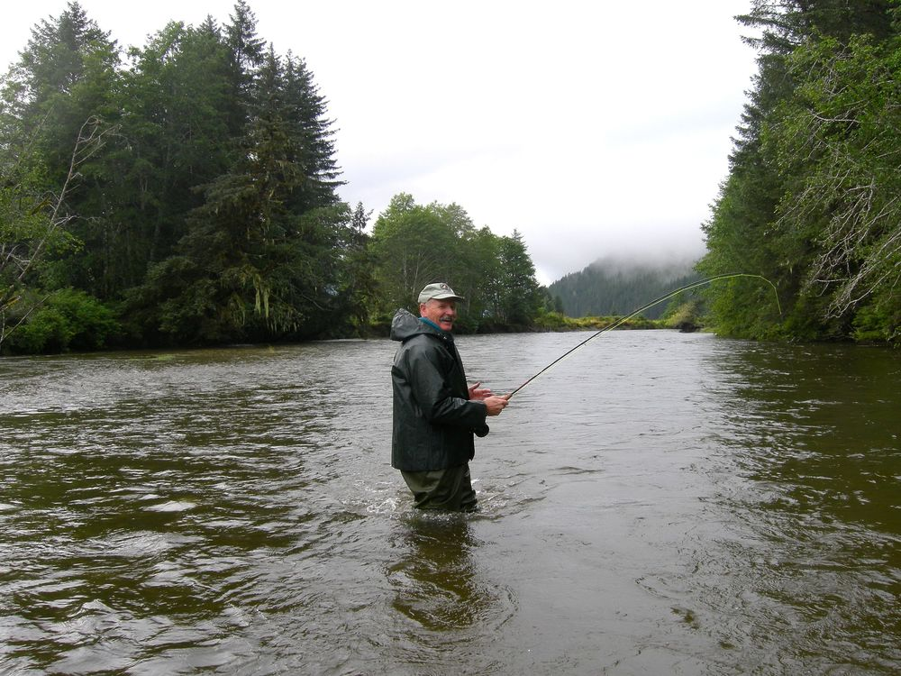 Fly fishing in alaska lisianski inlet lodge for Best time to fish in alaska
