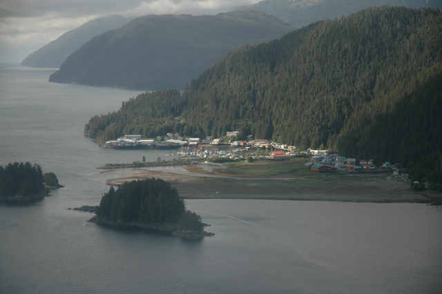 pelican Alaska from the air