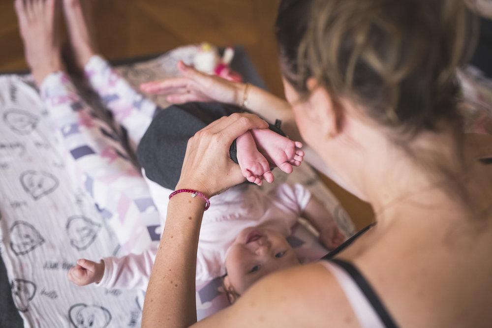 """Kurz """"Už pasu koníky"""" - BabYoga vhodná pro miminka narozená 09-12/2018každé pondělí v Óm Yoga Studiu"""