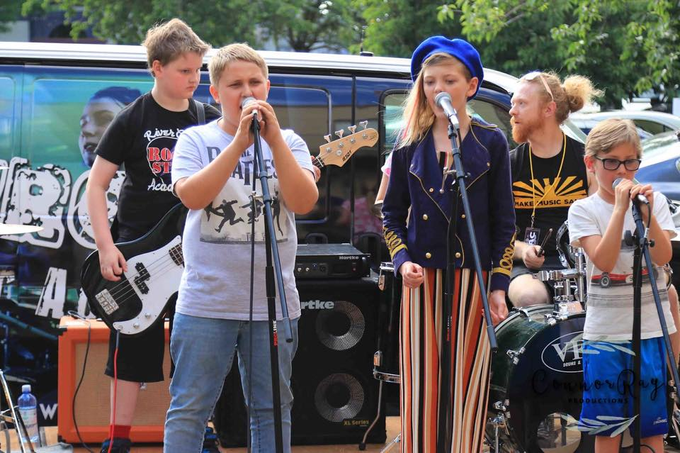 make music day rivercity rock star academy