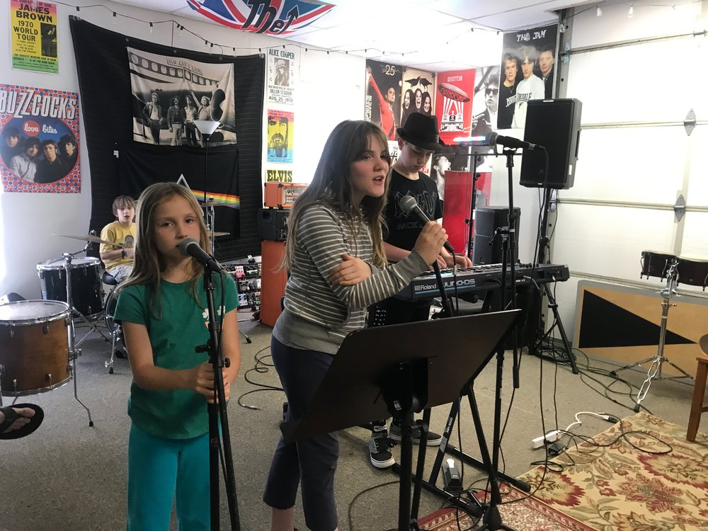 Summer Rock Camps - Join our week-long Summer Rock Camps for ages 6-12 for beginner, intermediate and advanced music students in June, July & August 2019.
