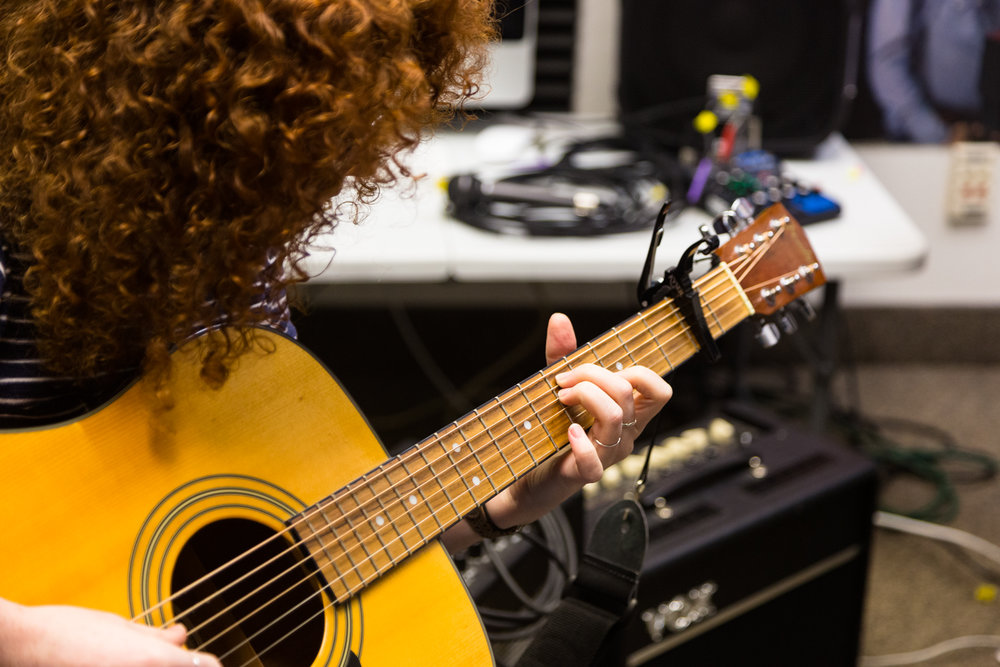 Guitar Lessons - We teach acoustic, electric, folk, and classical style.