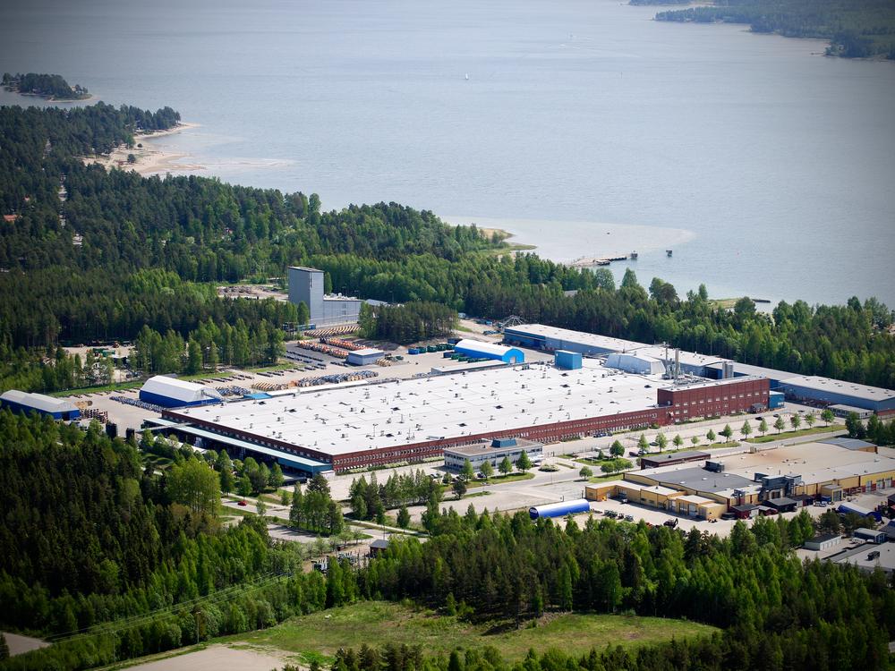 Factory, 30 000 SQM,Hudiksvall, Sweden