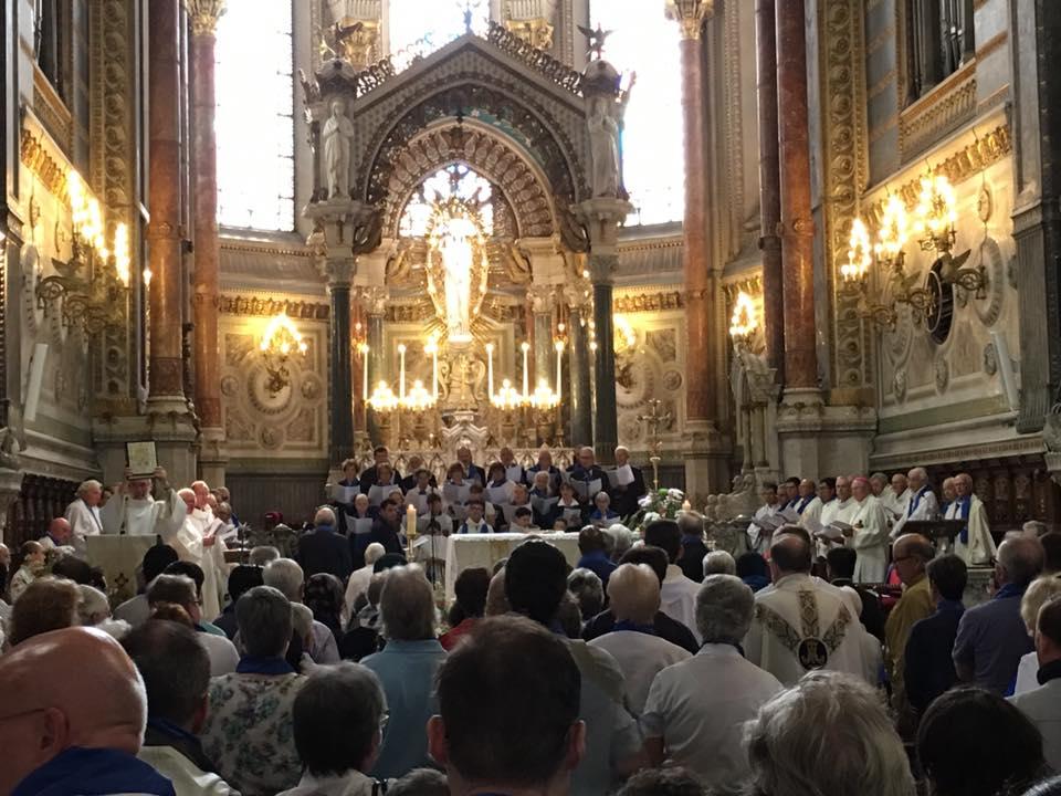 The Mass at Fourvière