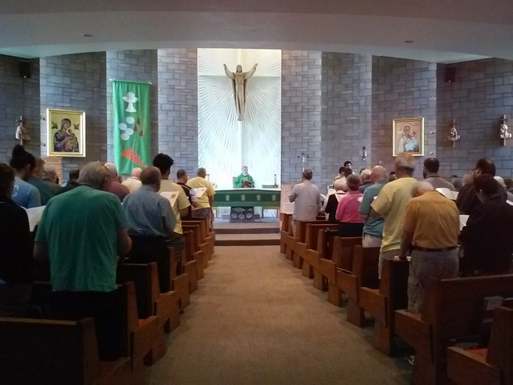 The closing Eucharist at the Conference, July 22nd, 2016.